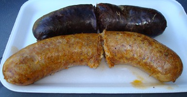 Two Links of Boudin