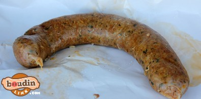Hot Boudin From Eunice
