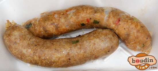 Smoked Boudin from Alexandria Louisiana