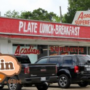 Acadiana Superette in Lafayette = B+ Rated Boudin
