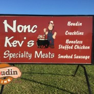Nonc Kev's in Rayne, Louisiana = B+ Boudin